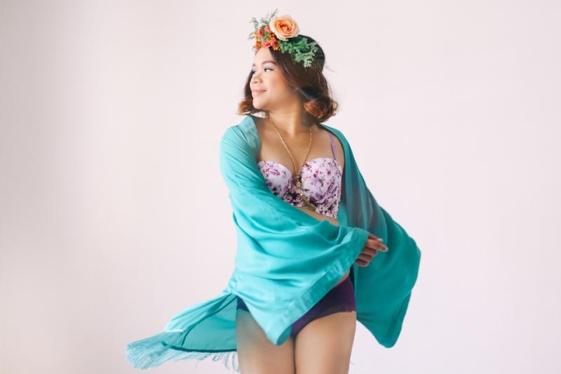 Cebu Fashion Blogger Cuckoo Cloud Concepts Gizelle Maternity Rainbowfish Photo Boudoir Bohemian-11