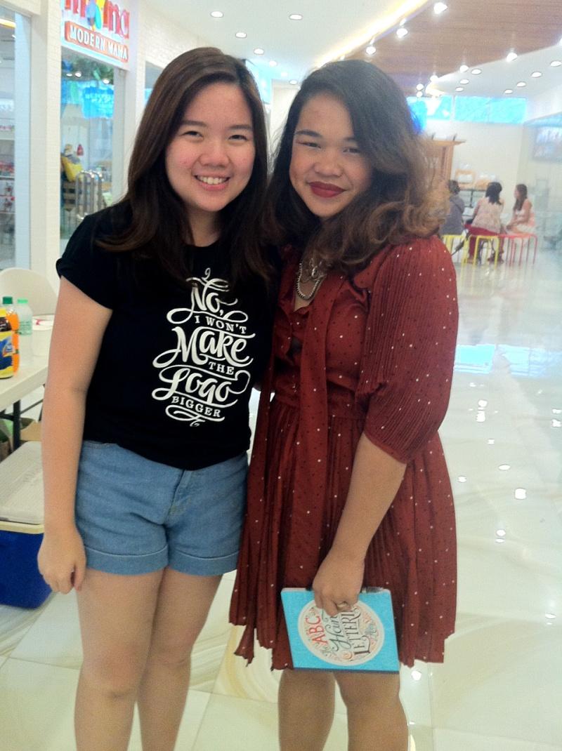 Gizelle Faye Cebu Fashion Blogger Hand Lettering Workshop Abbey Sy Joan and Klaire -7