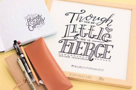 Gizelle Faye Cebu Fashion Blogger Hand Lettering Workshop Abbey Sy Joan and Klaire -8