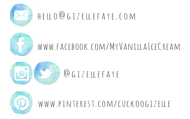 Cebu Fashion Blogger Gizelle Faye Social Media