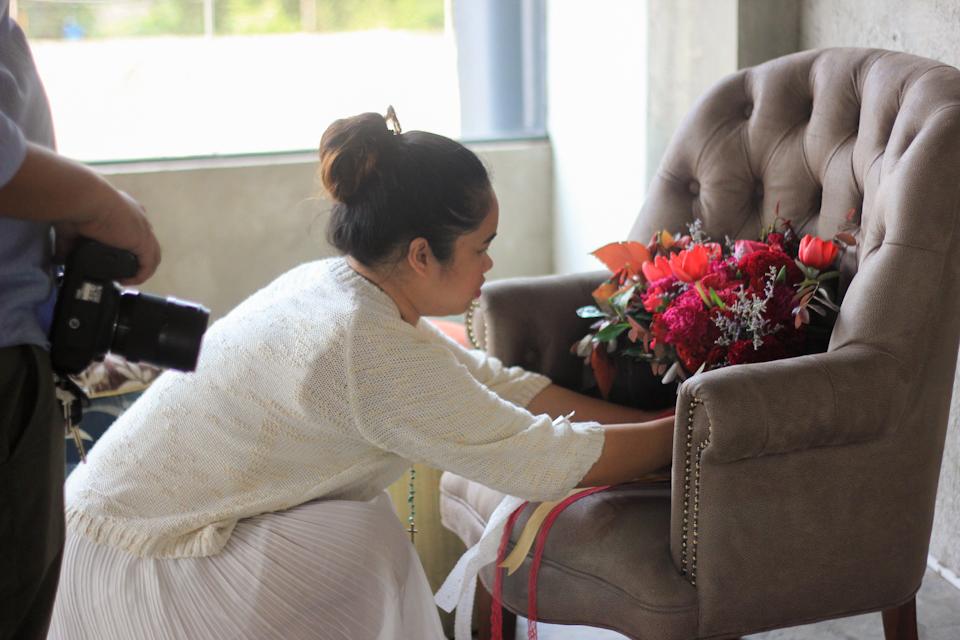 Gizelle Faye Girl Gone Cuckoo BTS BnB Editorial Cebu Florist Event Stylist-1